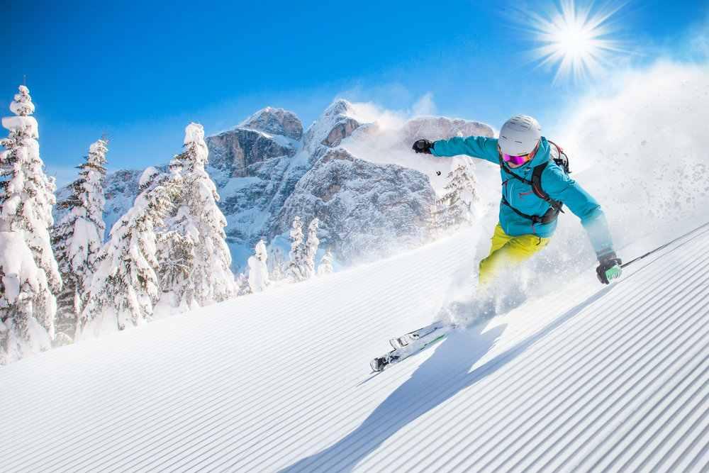 lyžování na Śumavě