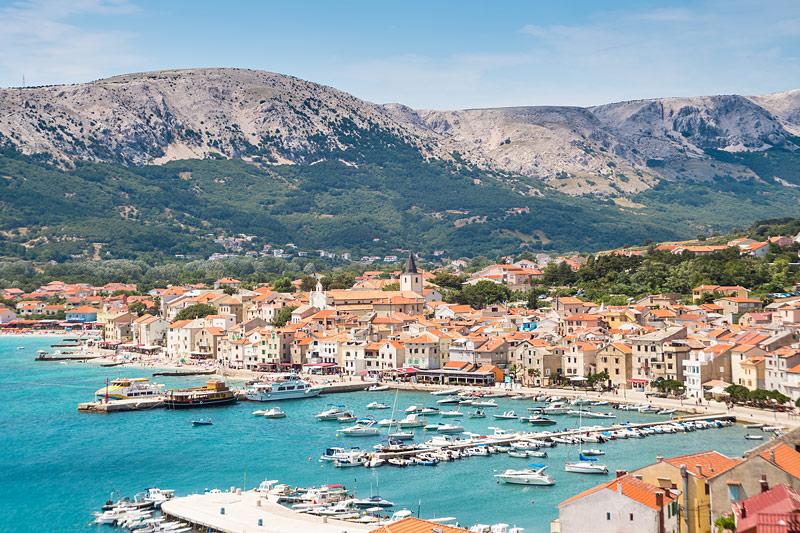 Ostrov Krk Chorvatsko